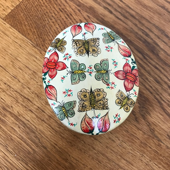 Vintage Other - Fetco Butterfly Trinket Box